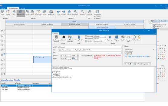 übersichtliche Terminplanung mit Adress PLUS