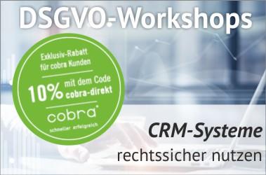 DSGVO-Workshop CRM-Systeme