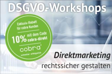 DSGVO-Workshop Direktmarketing